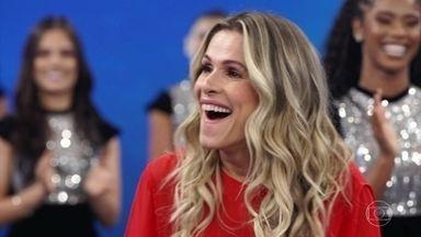 """Ingrid Guimarães descobre que está no """"Arquivo Confidencial"""" - Atriz ficou surpresa com a revelação"""