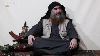 Abu Bakr Al Baghdadi, chefe do Estado Islâmico, morre em operação militar na Síria - Anúncio foi feito neste domingo (27) pelo presidente americano, Donald Trump. Saiba detalhes com a correspondente Carolina Cimenti e relembre as ações do grupo terrorista.