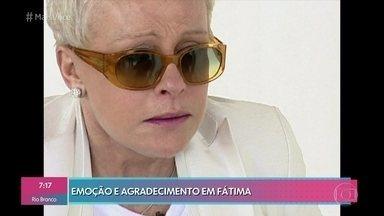 Relembre a primeira ida de Ana Maria Braga a Fátima em 2002 - Muito emocionada, a apresentadora atravessou passarela do santuário de joelhos para agradecer a cura após um tratamento de câncer. Desde então, Ana Maria volta ao local sempre que possível. Veja também o passeio da apresentadora pela Serra da Estrela