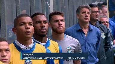 Dupla Gre-Nal vence pelo Brasileirão e mostra sinais de recuperação - Grêmio enfrenta o Vasco, no Rio de Janeiro, e Inter encara o Athletico-PR no Beira-Rio.