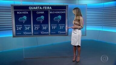 Veja como fica o tempo nesta quarta (30) - Segue o calorão com cara de verão. Rio e São Paulo tiveram temperaturas acima da média em outubro.