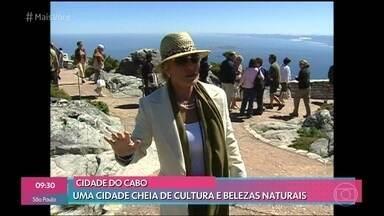 Ana Maria se encanta com as belezas naturais da Cidade do Cabo - Apresentadora viajou para a África do Sul em 2005