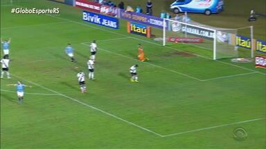 Última vitória do Grêmio sobre o Vasco, em São Januário, foi em 2013 - Assista ao vídeo.