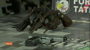 Cinco criminosos morrem em troca de tiros com policiais em Cuiabá - Eles teriam reagido ao serem abordados por policiais militares.