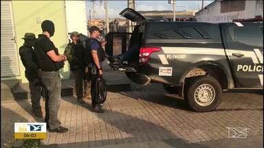 Operação de combate ao crime organizado cumpre 14 mandatos no Maranhão - Segundo a polícia, entre os presos estão três policiais militares e mais dois PM's estão foragidos.