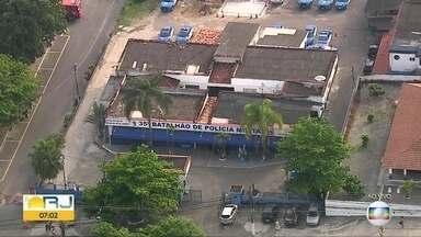 Polícia realiza operação contra roubo de cargas no Rio e Itaboraí - Ministério Público e Polícia Militar realizam operação para combater roubo de cargas. A operação foi batizada de 'Basta'.