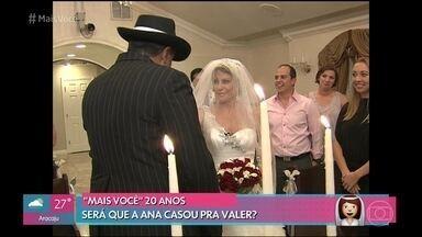 Ana Maria relembra casamento de mentirinha em Las Vegas - Veja o passeio da apresentadora pela cidade americana e divirta-se com as confusões