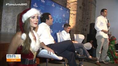 Salvador terá decoração natalina a partir de 15 de novembro, diz prefeitura - Anúncio foi feito pelo prefeito ACM Neto durante evento na Barroquinha.