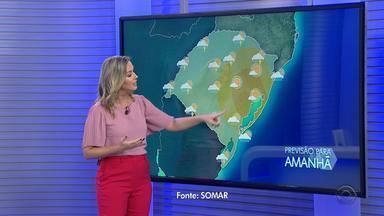 Sexta-feira tem instabilidades e calor ao longo do dia no RS - Assista ao vídeo.