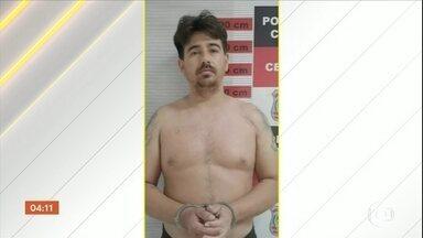 Preso um dos bandidos mais procurados do Ceará - De acordo com a polícia, ele seria o autor de, pelo menos, oito assaltos a banco. Também foram apreendidos veículos e uma grande quantidade de dinheiro.