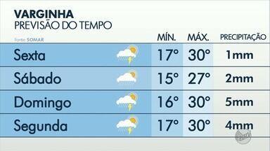 Confira a previsão do tempo para Poços de Caldas, Varginha e Pouso Alegre - Confira a previsão do tempo para Poços de Caldas, Varginha e Pouso Alegre