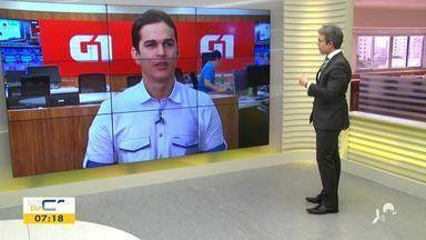 Valdir Almeida mostra os destaques do G1 desta sexta-feira (1) - Saiba mais em g1.com.br/ce