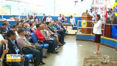 Ações pedagógicas são desenvolvidas pelo TCM em Santarém - Programação também inclui o 1º encontro de vereadores do Oeste do Pará.