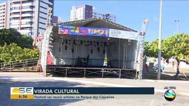 Virada Cultural será realizada no Parque dos Cajueiros - Virada Cultural será realizada no Parque dos Cajueiros.