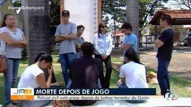 Torcedor do Goiás morre após ser baleado na saída de jogo contra o Flamengo - Policial Civil foi preso suspeito de ter atirado contra a vítima.
