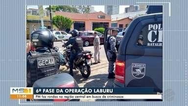 PM faz sexta fase de operação de combate a crimes na região da antiga Rodoviária - Policiais procuraram drogas e fugitivos na região central de Campo Grande