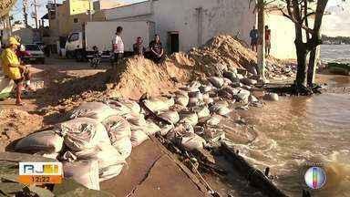 Foz do Paraíba do Sul muda de lugar; assoreamento é um dos motivos - Assista a seguir.