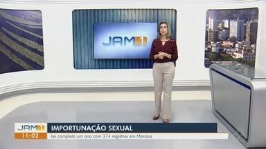 Em Manaus, Lei de combate a importunação sexual completa um ano - 374 registros policiais foram feitos.