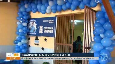 Campanha nacional 'Novembro Azul' iniciou hoje em todo país - Objetivo é conscientizar os homens sobre o câncer de próstata e cuidados com a saúde.