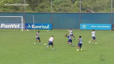 Veja como foi o treino do Grêmio em preparação para o Gre-Nal 422 - Clássico acontece neste domingo (3), às 18h, na Arena.