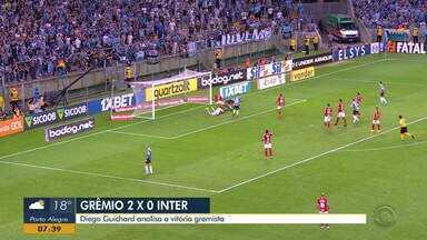 Diego Guichard fala sobre a vitória do Grêmio no Gre-Nal 422 - Confira as análises do comentarista.