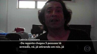 """Agentes da PF buscam autores da emboscada que matou Paulo Paulino Guajajara - Paulino era líder dos """"Guardiões da Floresta"""", grupo criado pelos próprios índios para proteger a reserva."""