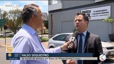 Sete pessoas são vítimas de golpistas em Patos de Minas - Ocorrências foram registradas num único fim de semana. Delegado regional Luis Mauro Sampaio comentou o assunto e deu dicas importantes para evitar cair nas mãos dos criminosos.