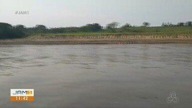 Após naufrágio, buscas continuam por pastor desaparecido em Itacoatiara - Duas mulheres morreram.