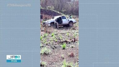 Homem morre em acidente de trânsito na TO-030 - Homem morre em acidente de trânsito na TO-030