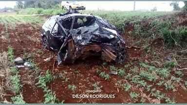 Quatro pessoas morreram em um acidente em São João, Sudoeste do estado - De acordo com PRE do início do ano até agora foram registradas 85 mortes nas estradas do Sudoeste.