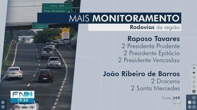Rodovias do Oeste Paulista recebem novos pontos de fiscalização eletrônica - Instalação deve ser concluída ainda neste mês.