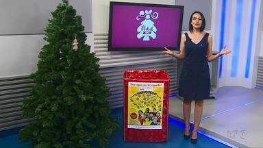 Natal RPC: Campanha arrecada brinquedos para crianças de Ponta Grossa - Caixa estará no Parque Ambiental no horário do Meio-Dia Paraná nesta terça-feira (05).
