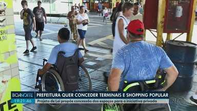 Prefeitura quer passar terminais e shopping popular para a iniciativa privada, em PG - Projeto de Lei do Governo tramita na Câmara de Vereadores.