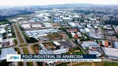 Aparecida de Goiânia é considerada o maior polo industrial de Goiás - São quase 500 indústrias que movimentam R$ 20 bilhões por ano.
