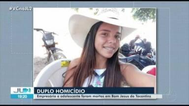 Polícia investiga caso de fazendeiro e adolescente brutalmente assassinados no Pará - O duplo homicídio aconteceu em Bom Jesus do Tocantins, no sudeste do estado.