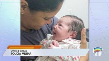 Dois bebês são salvos por policiais em São José e Lorena - Crianças passam bem.
