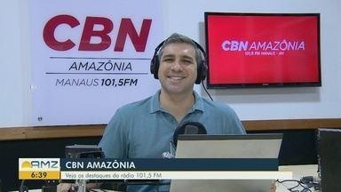 Confira os destaques da CBN Amazônia desta terça-feira (5) - Confira os destaques da CBN Amazônia desta terça-feira (5).