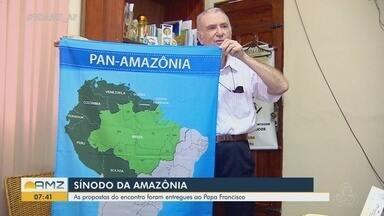 Propostas de evangelização na América do Sul são entregues ao papa no Sínodo da Amazônia - Discussões ocorreram no mês de outubro, no Vaticano.