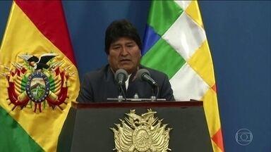 Oposição na Bolívia convoca greve para pressionar por renúncia do presidente Evo Morales - Opositores não reconhecem resultado da eleição de outubro, que reelegeu Morales para um quarto mandato.