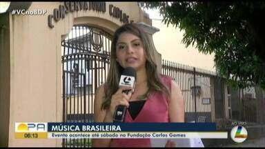 Festival de Música Brasileira é realizado até sábado na Fundação Carlos Gomes - Festival de Música Brasileira é realizado até sábado na Fundação Carlos Gomes