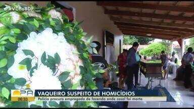 Polícia procura empregado de fazenda onde casal foi morto - Polícia procura empregado de fazenda onde casal foi morto