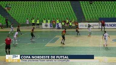 Times piauienses estreiam na copa nordeste de futsal - Times piauienses estreiam na copa nordeste de futsal