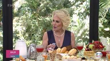 Ana Maria Braga recebe Gracielle para o café da manhã - Convidados começam a chegar para a noite nordestina promovida por Gracielle