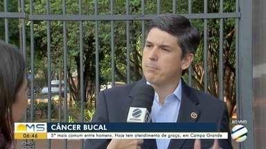 Praça do Rádio Clube recebe ação de prevenção ao câncer bucal - Praça do Rádio Clube recebe ação de prevenção ao câncer bucal