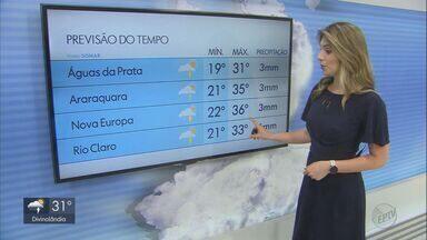 Veja como fica o tempo nesta terça-feira na região - Dia permanece quente e abafado, mas a chances de chuvas para todo o estado de São Paulo.