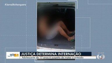 Justiça decreta internação provisória de adolescente suspeito de matar enteado em Goiânia - Vítima, de 2 anos, foi encontrada com sinais de asfixia e violência sexual na casa da família. Mãe do menino também está presa.