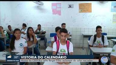 Estudantes reclamam do calor em salas de aula em Teresina - Estudantes reclamam do calor em salas de aula em Teresina