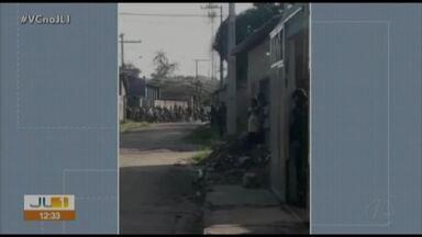 Criminosos fazem uma pessoa de refém no bairro do PAAR, em Ananindeua - Criminosos fazem uma pessoa de refém no bairro do PAAR, em Ananindeua