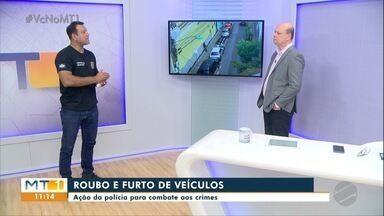 Polícia Civil fala sobre o combate ao roubo e furtos de veículos - Polícia Civil fala sobre o combate ao roubo e furtos de veículos.