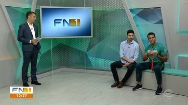 Medalhista olímpico Bruno Lins participa de entrevista no FN 1 - Velocista prudentino retorna da Suíça, onde recebeu bronze herdado dos Jogos Olímpicos de Pequim, em 2008.